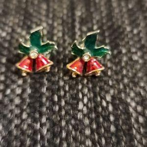 Vintage Avon Christmas bells earrings 🔔